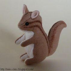 Chipmunk and Squirrel  - free pattern