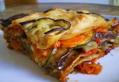 """Un piatto sano e genuino in perfetto stile vegano: le """"Lasagne di verdure al curry"""""""
