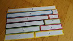 Kruschkiste: Material zur Zahlenzerlegung