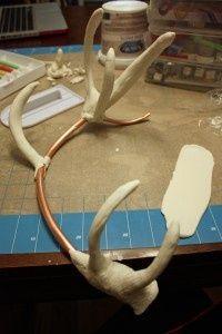 DIY antler