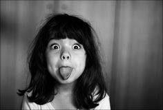 Making funny faces . Silly Faces, Funny Faces, Photo Portrait, Portrait Photography, Cute Kids, Cute Babies, Black White Photos, Black And White, Face Expressions