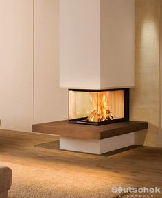 Soutschek GmbH Meisterbetrieb + specialist trade for tiled stoves, heating fireplaces, fireplace … – Fireplace Ideas 2020 Basement Fireplace, Home Fireplace, Modern Fireplace, Fireplace Design, 3 Sided Fireplace, Fireplaces, Home Living Room, Living Room Designs, Herd
