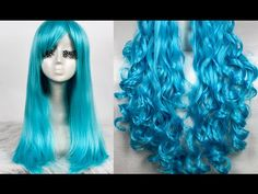 ▶ Curl & Straighten Synthetic Hair? Turn Old Wigs Into New Ones - YouTube