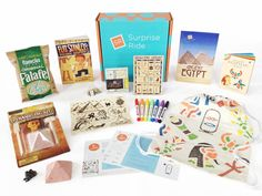 @SurpriseRide Subscription box for kids aged 6-11 - so much fun, crafts, learning and using their creativity & imaginations!
