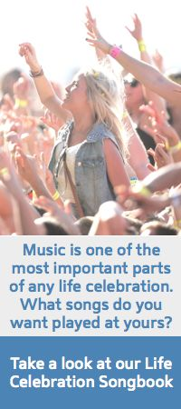Take a look at our Life Celebration Songbook