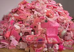 Portia Munson of PPOW Gallery on Her Pink Project, Consumerism and Hoarders