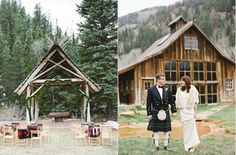 "While you may have never thought of staying in or getting married in ""a romantic ghost town,"" you've also never seen a place like this. Photo Credit: Laura Murray Photography"
