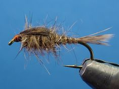 Gold Ribbed Hare's Ear.This is one of my favorite flies to use and to tie. I do another version with a gold bead head.