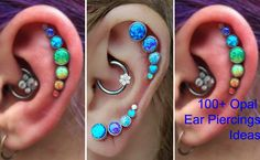 Over 100+ Opal Ear Piercing Jewelry Ideas at MyBodiArt for Tragus Earring, Cartilage Piercing, Helix Jewelry, Rook Barbell, Daith Ring, Conch Studs.
