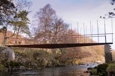 Landscape Structure, Landscape Architecture, Forest Cabin, Bridge Design, Pedestrian Bridge, High Line, The Real World, Lake District, Natural Wonders