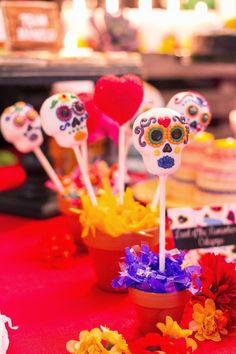 In Flight: The Book of Life Movie Release Party / Day of the Dead Dia de los Muertos Cakepops