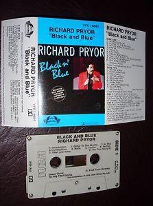 RICHARD PRYOR BLACK AND BLUE Cassette Tape RED#64
