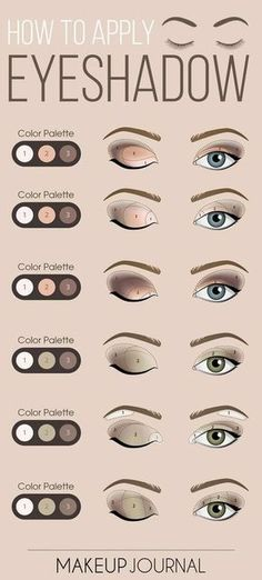 Eye make up is an important component of your flawless look. So before going for something, do not be lazy to do the research on what compliments you most! #eyeshadowslooks