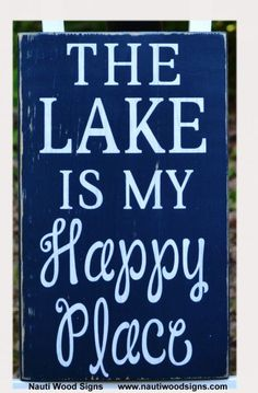 Cabin Signs with Sayings | Lake Quote Sayings on Wood, Plaque, Lake Sign, River Sign, Cabin ...