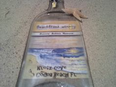 Beach Front Winery Custom wine Label  For by Collectivekayos, $25.00