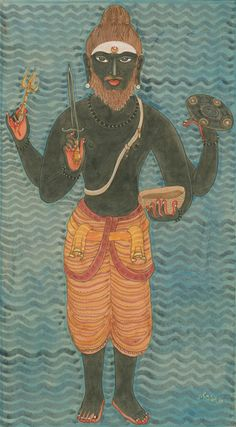 "thatmeansprogress: "" Bhairava-Shiva, the fierce roaming tiger of the cremation grounds. """