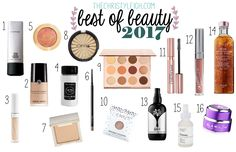 Best of Beauty 2017 thechristyleigh.com