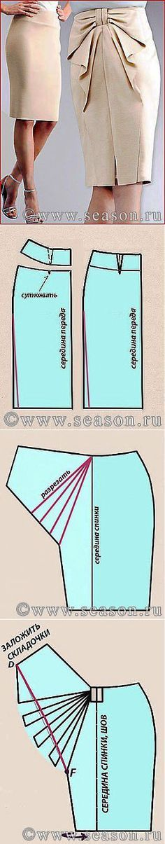 Patrón falda