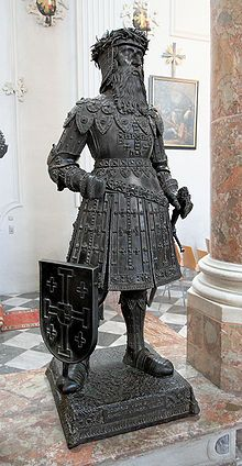 "Godfrey of Bouillon (18 September 1060 – 18 July 1100) was a medieval Frankish knight who was one of the leaders of the First Crusade from 1096 until his death. He was the Lord of Bouillon, from which he took his byname, from 1076 and the Duke of Lower Lorraine from 1087. After the successful siege of Jerusalem in 1099, Godfrey became the first ruler of the Kingdom of Jerusalem, although he refused the title ""King""; as he believed that the true King of Jerusalem was Christ."