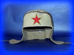 EASTER GIFT IDEA sauna hat for man Wool Felt Wool Felt Hat Banya Sauna Ushanka USSR Red Star chapeau pour le sauna warrior SPRING COMING SALE *** Detailed information can be found by clicking on the image