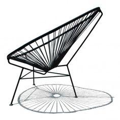 fauteuil-acapulco-mini-noir