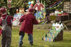 Lumber Jack Party Packs #Kids #Party #BirthdayExpress