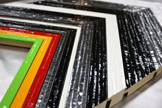 Beautiful way to add color to your framed artwork