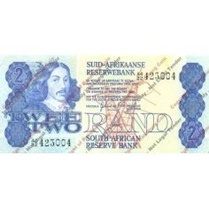 *#* GPC De Kock 1st Issue - Two Rand Afr/Eng Note - EF *#*