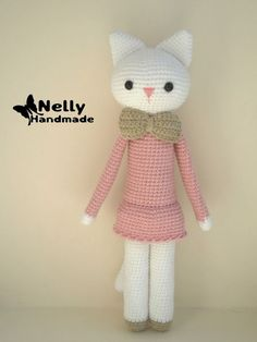 Ingenious by me | Schattige Kitty Cutie – Gratis Patroon | http://www.ingeniousbyme.com