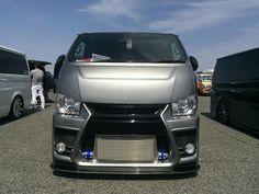 Toyota Van, Big Boyz, Toyota Hiace, Custom Vans, Chicano, Car Car, Motorhome, Engineering, Custom Cars