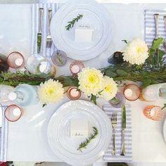 Beautiful plate setting