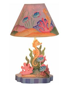 Teamson Kids 'Under Sea' Table Lamp - would be great for a mermaid room!