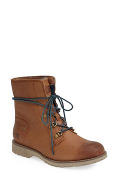 Free shipping and returns on The North Face 'Ballard' Boot (Women) at Nordstrom.com. A rugged lace-up boot fashioned from burnished leather lets you take on winter in style and comfort with an OrthoLite® ReBound footbed and quilted, moisture-wicking Dri-Lex® lining.