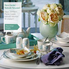 Yazın renklerini Pierre Cardin kahvaltı takımları ile yaşayın! #kahvaltıtakımı