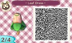 """khn-acnl: """"An anon asked me on my theme blog to release the QR code for what I was wearing in the TPC theme, so here it is! I'm glad you like it anon ♥ """""""
