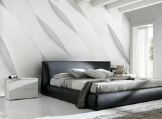 Concrete Waves Wall Mural