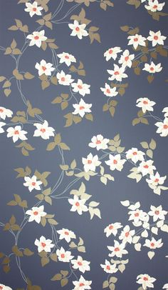 I'm not sure we are going to recommend wallpaper for you, but do you dig it? Do you like this particular wallpaper? Malleny Osborne & Little wallpaper