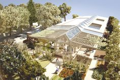 Norman Foster Submits Plans for Manchester Maggie's Centre