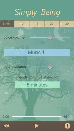 Simply Being - Guided Meditation for Relaxation and Presence von Meditation Oasis