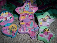 Old School Polly Pocket. Not the new ones they have now a days. These ones were TEENY TINY.
