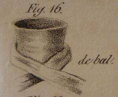 """Cravate de Bal H. le Blanc, Esq.: """"L'Art de mettre sa cravate"""" (1827)"""
