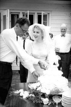 Arthur Miller and Marilyn Monroe