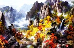 "Jigsaw Puzzles 1000 Pieces ""金剛山"""