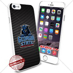 New iPhone 6 Case Georgia State Panthers Logo NCAA #1159 White Smartphone Case Cover Collector TPU Rubber [Carbon Fiber] SURIYAN http://www.amazon.com/dp/B01504E4TS/ref=cm_sw_r_pi_dp_Na9zwb0RP23K8