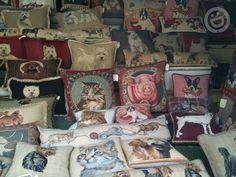 pillow shop in Lyon, France