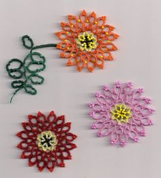 Tat's Heaven: Gerberas Galore ... with free pattern (Daisy)