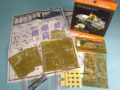 Step by Step process for applying Photo Etch parts @ http://www.hobbylinc.com/plastic-model-parts-and-accessories