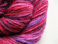 Handspun yarn - light worsted weight wool by LambsEars for $23.80