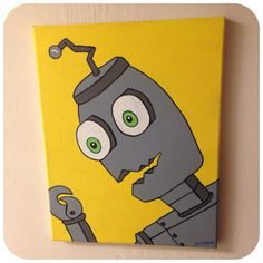 Robot Canvas Painting