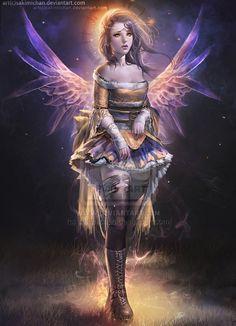 Dream Faerie by sakimichan.deviantart.com on @deviantART